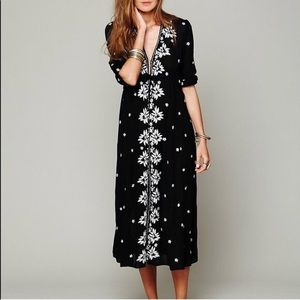 PLAY con Fable Dress Black ** Small Free People